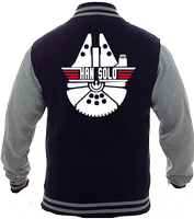 HAN SOLO VARSITY - INSPIRED BY STAR WARS MILLENNIUM FALCON